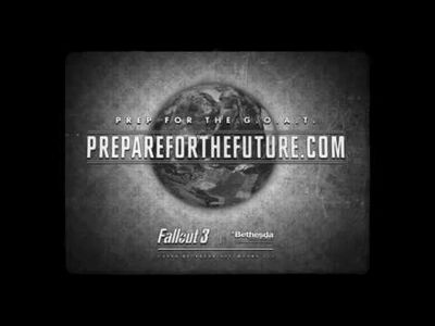 Fallout 3 - Find Your Future, with G.O.A.T