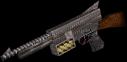 Laser array gun active