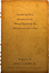 PSY101 notebook cover