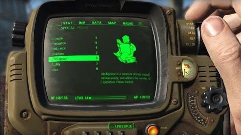 Sistema de personajes de Fallout 4