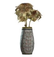 Willow rounded vase