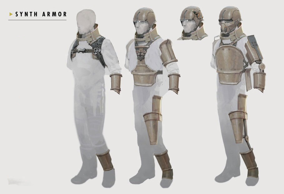 Art of FO4 Synth Armor
