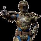 Atx skin armorskin metal camo l
