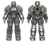CC Hellfire power armor BoS Knight