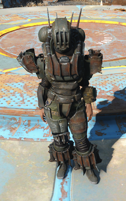 FO4 AUT Robot armor full view