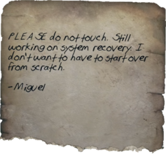 FO76 Do not touch