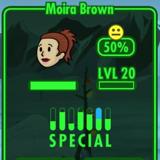 Fallout Shelter Moira Brown Infobox