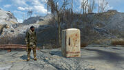 Fo4 Guy trying to open a locked fridge