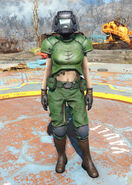 Doom marine armor female