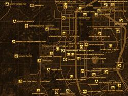FNV Карта НЕОНОВЫЕ ЗНАКИ ЗЭППА