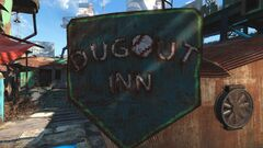 FO4 Dugout Inn Logo