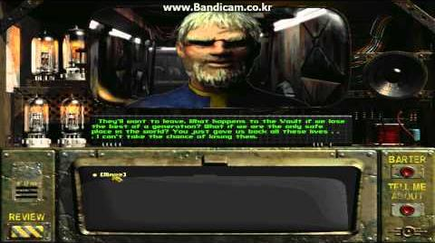Fallout 1 - Killing Overseer