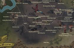 The Burning Mine map