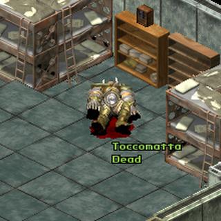 Тіло Токкаматты (помилка в імені персонажа)