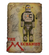 Drawing of the Mechanist