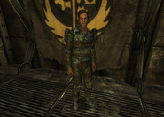 FNV BoS Knight in Hidden Valley bunker