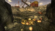 FNV Pile of deathclaw eggs in Quarry Junction