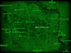 FO4 Пост наблюдения «Браво» (карта мира)