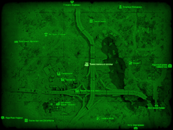 FO4 Таинственные сосны (карта мира)