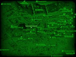 FO4 Треугольник основателя (карта мира)