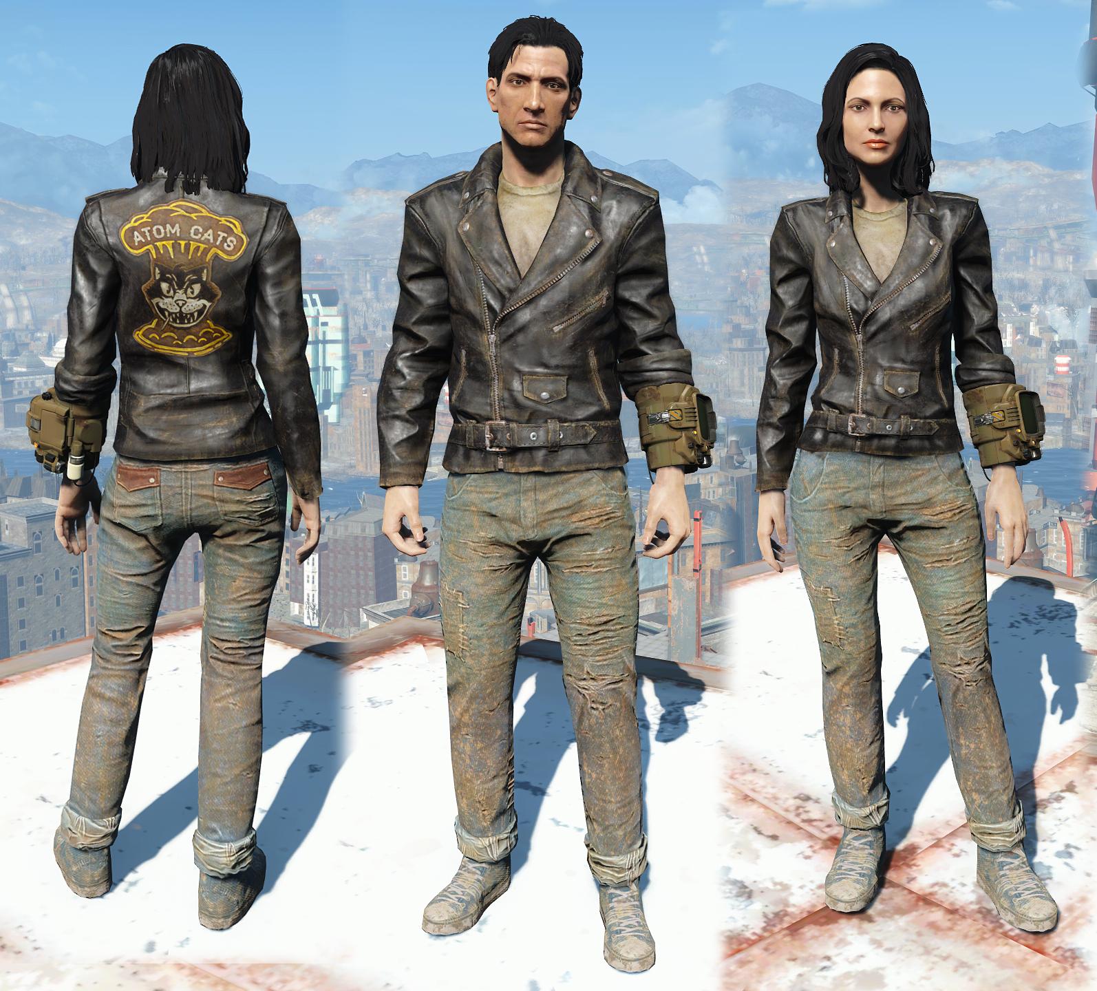 Zeke S Jacket And Jeans Fallout Wiki Fandom Powered By Wikia