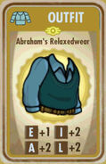 FoS Abraham's Relaxedwear Card