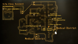 Villa Clinic map