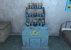 Bobblehead stand Vault 81