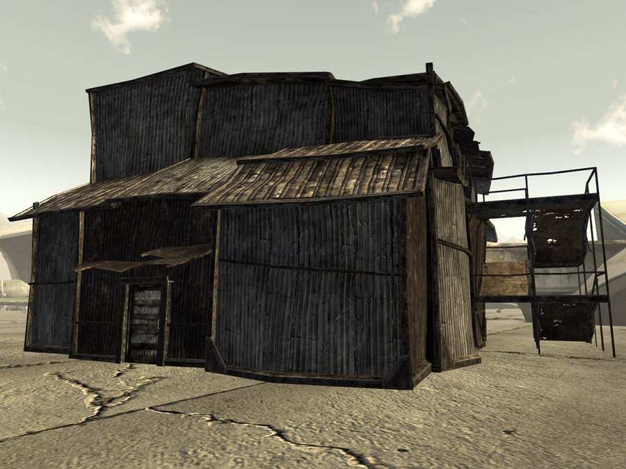 Camp McCarran supply shack