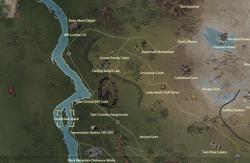 Deathclaw Island map