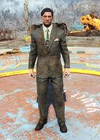 FO4 Dirty black suit