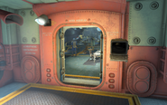FO4 Vault81Secret Exit with the terminal