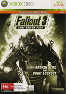 Fallout 3 - Broken Steel & Point Lookout (add-on cover)