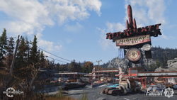 Fo76 Red Rocket Megastop official