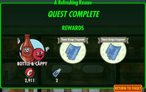FoS A Refreshing Rescue rewards
