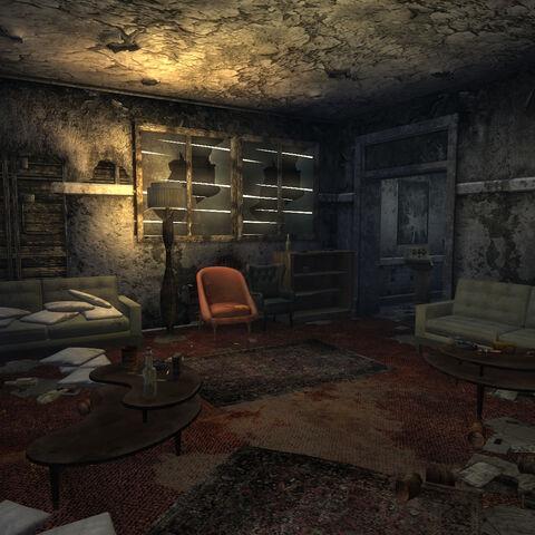 The gang's living room