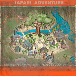 NW Park Map Safari Adventure