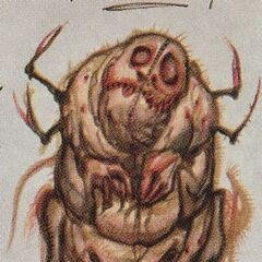 Concept art of a needle tooth floater in <i>The Art of Fallout 3</i>
