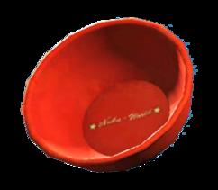 Souvenir plastic bowl