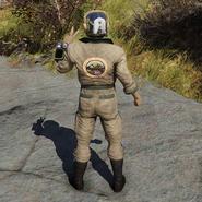 Atx apparel outfit jumpsuit ranger c2