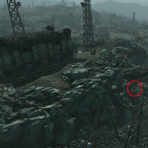 Explosives Bobblehead Manhole Location