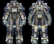 FO4CC T-45 power armor onyx