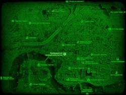 FO4 Кембриджский полицейский участок (карта мира)