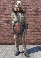 FO76 Imposter Sheepsquatch with Hat