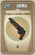 FOS Escopeta recortada oxidada carta
