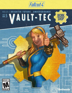 Fallout 4 Vault-Tec Workshop add-on packaging
