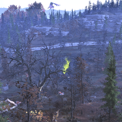 Fissure site Sigma from the cliffs above, scorchbeast flying