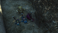 Fo4 Teddy bear knife ritual