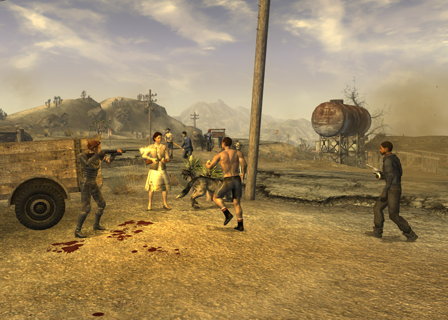 Ghost Town Gunfight | Fallout Wiki | FANDOM powered by Wikia