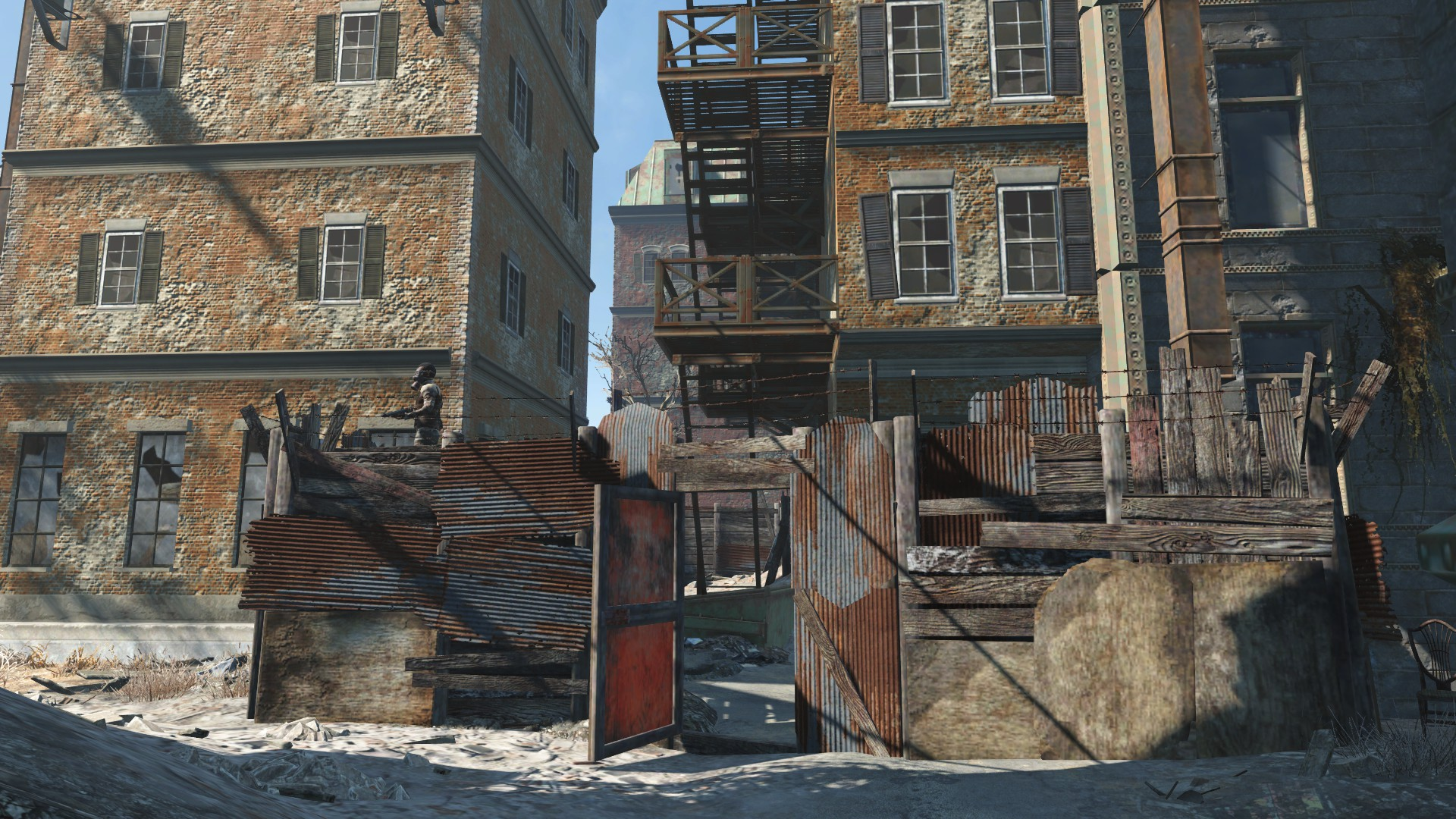 Raider alleyway outpost | Fallout Wiki | FANDOM powered by Wikia